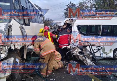 Se registra aparatoso accidente en la carretera Tepic-Bellavista