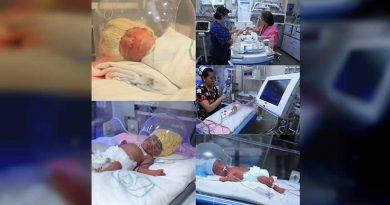 Nacen quintillizos en el IMSS de CDMX
