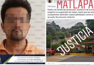 Arrestan a profesor que abusó y violó a 17 niños de un kínder en SLP
