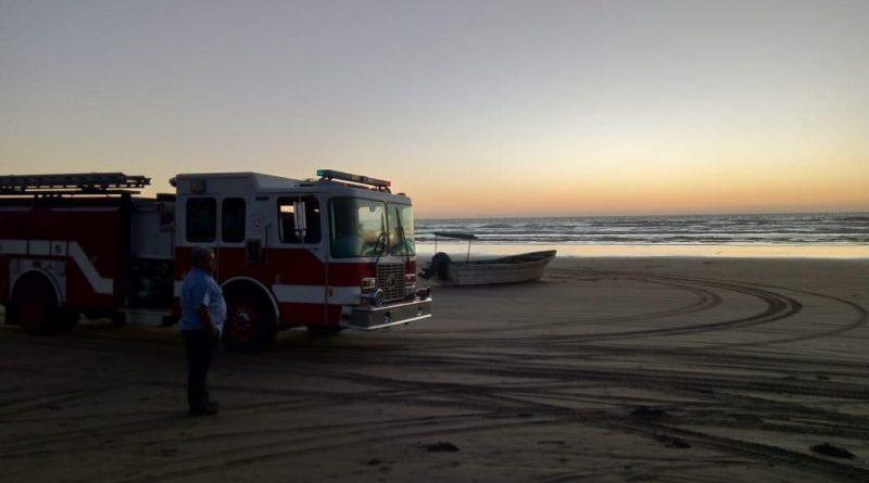 Protección Civil busca a cocodrilo en Playa Novillero