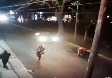 VIDEO: Captan accidente por culpa de bache en la ciudad de Tepic