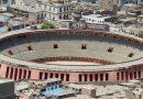 Plaza de toros en Perú se convierte en refugio contra el COVID-19
