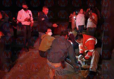 Dos heridos tras fuerte accidente en la localidad de Fco. I. Madero Puga