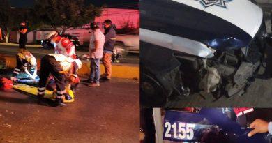 Policías en presunto estado de ebriedad arrollan a repartidores en Oaxaca.