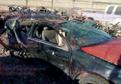 Brutal accidente deja dos personas muertas en el municipio de Rosamorada