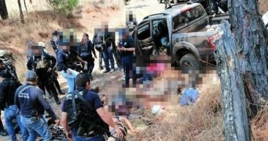 Grupos armados se enfrentan a balazos en Michoacán; hay 10 muertos