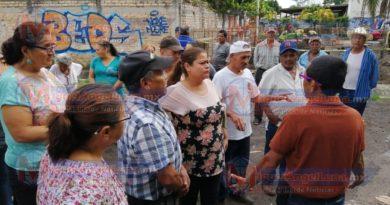 Vecinos de la colonia Sandino se oponen a la construcción de tienda Kiosko