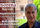 Alejandro Rojas visitará el estado de Nayarit el próximo viernes