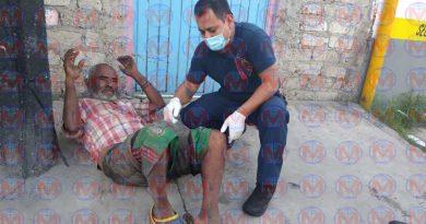 Se registra abandono familiar de un hombre en la ciudad de Tepic