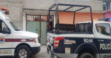 Muere acuchillada niña de 2 años en Ecatepec