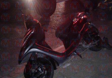 Motociclista sufre accidente en Vistas de La Cantera